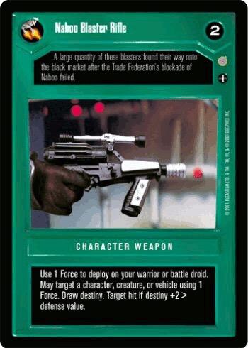 Naboo Blaster Rifle