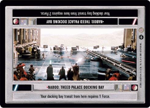 Naboo: Theed Palace Docking Bay