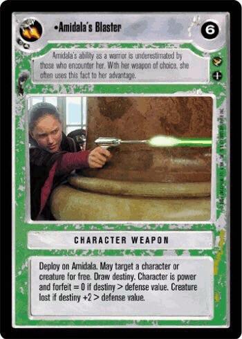 Amidala's Blaster