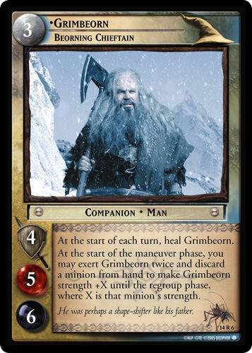 Grimbeorn, Beorning Chieftain