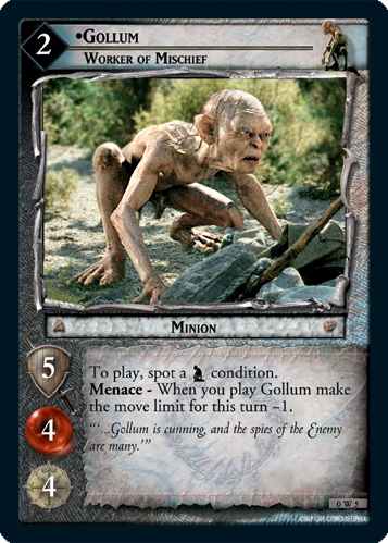 Gollum, Worker of Mischief