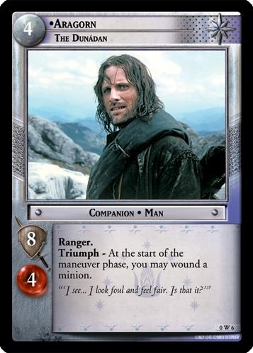 Aragorn, The Dunadan
