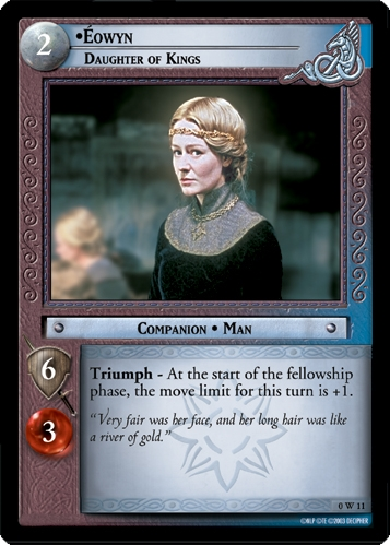 Eowyn, Daughter of Kings
