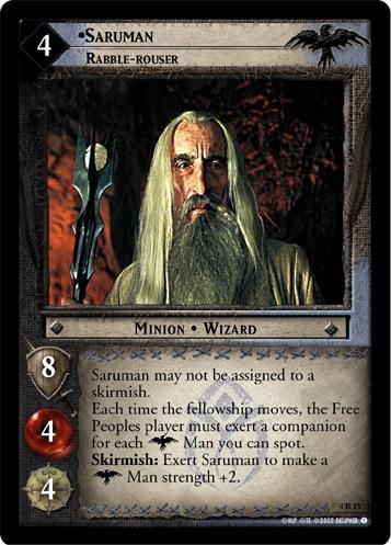 Saruman, Rabble-rouser