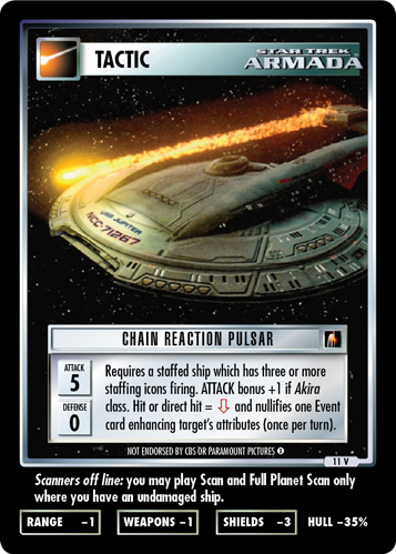 Chain Reaction Pulsar