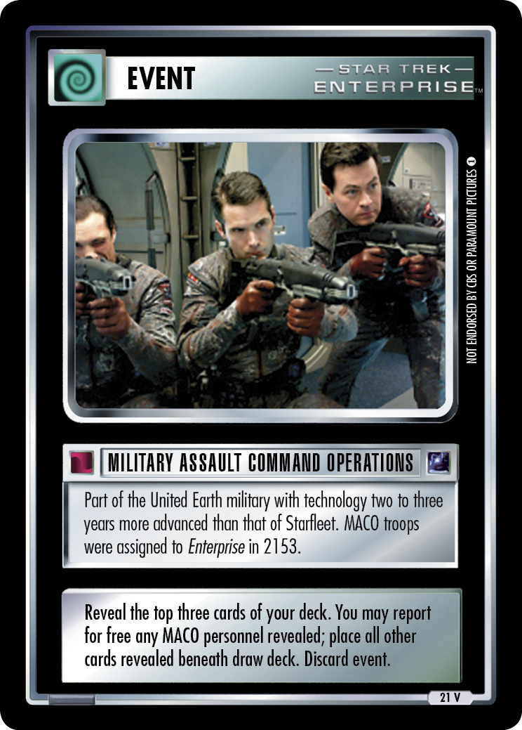 Military Assault Command Operations