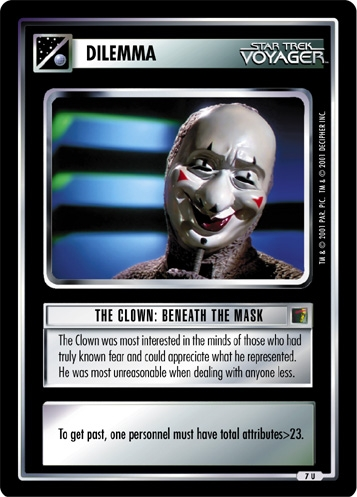 The Clown: Beneath the Mask