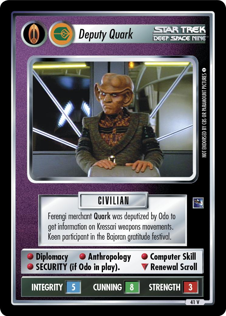 Deputy Quark