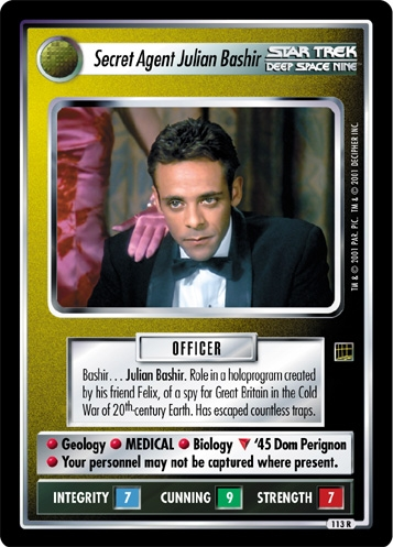 Secret Agent Julian Bashir
