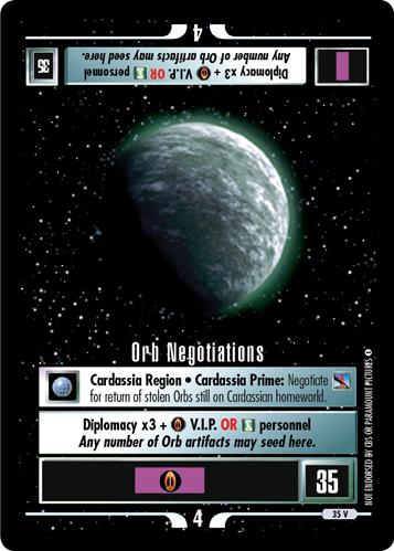 Orb Negotiations