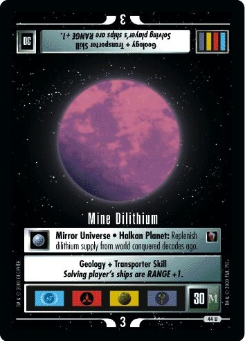 Mine Dilithium