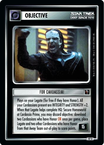 For Cardassia!