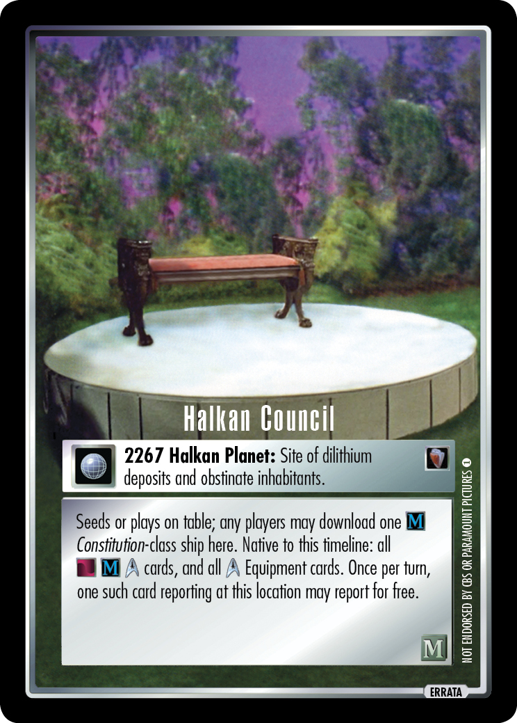Halkan Council (first version)