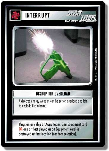 Disruptor Overload (first version)