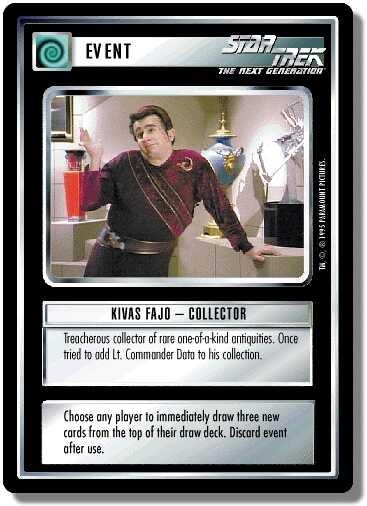 Kivas Fajo - Collector