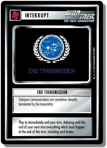 End Transmission (first version)