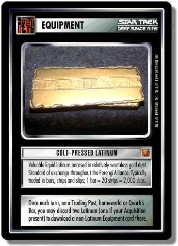 Gold-Pressed Latinum