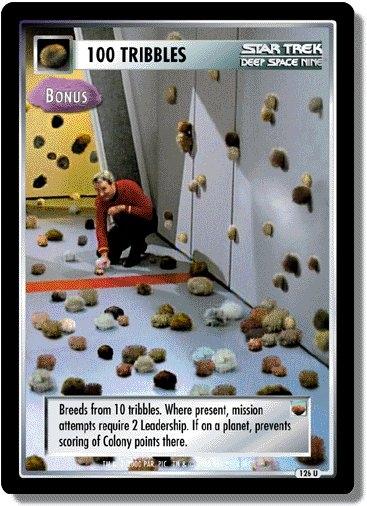 100 Tribbles (Bonus)