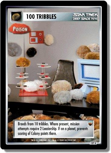 100 Tribbles (Poison)
