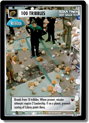 100 Tribbles (Rescue)