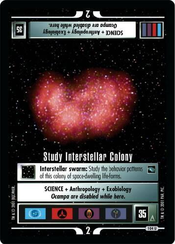 Study Interstellar Colony
